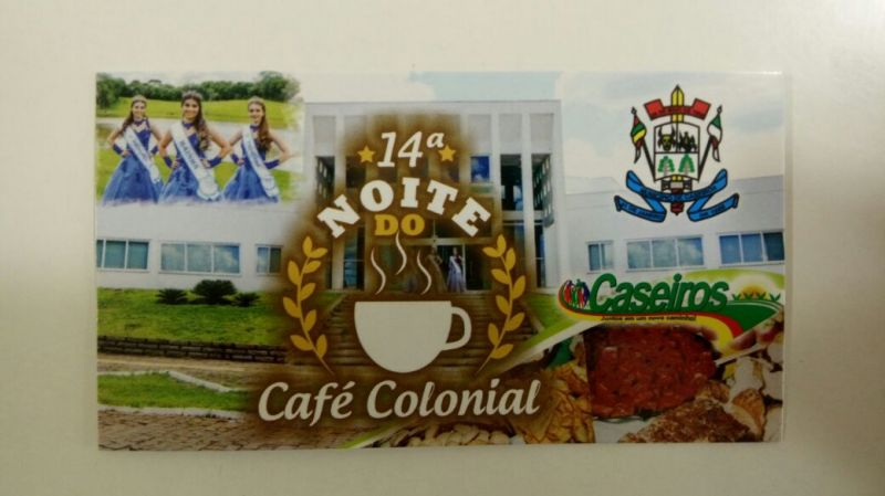 14ª Noite do Café Colonial será realizado na próxima semana